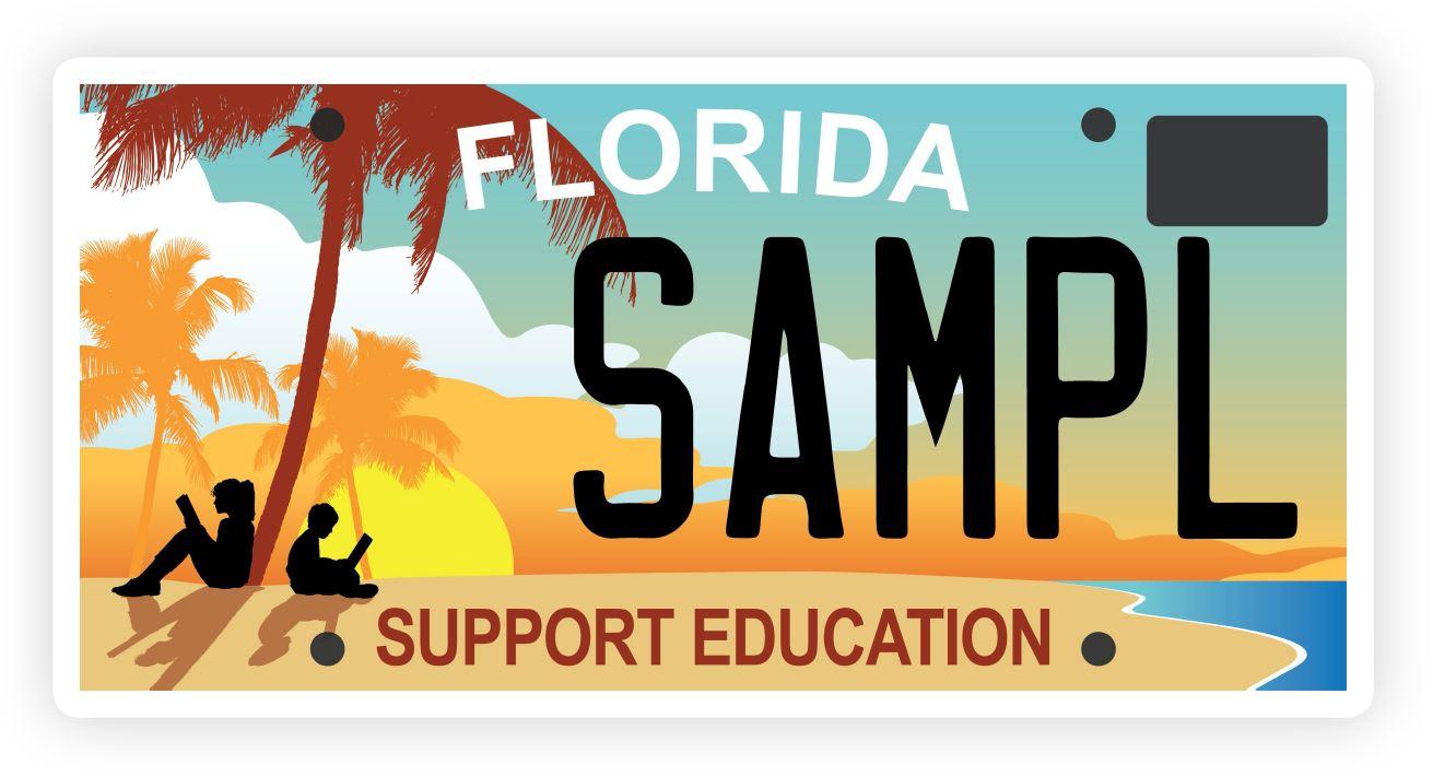 Florida License Plate - Brevard Schools Foundation   FL